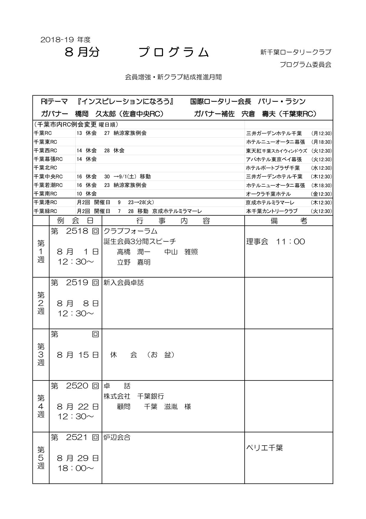 月プログラム18-19